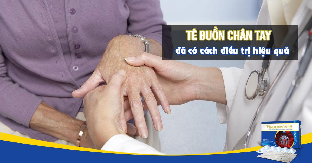 Cách chữa trị chứng tê buồn chân tay hiệu quả