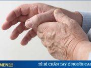 tê bì chân tay ở người cao tuổi