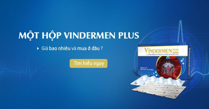 Một hộp Vindermen Plus giá bao nhiêu?