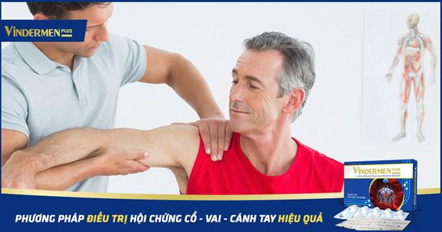 điều trị hội chứng cổ vai cánh tay hiệu quả