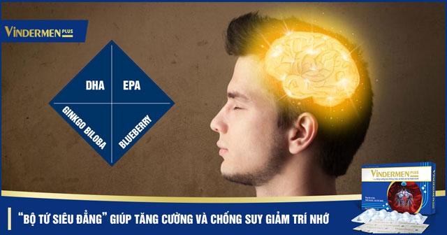 giúp tăng cường trí nhớ và chống suy giảm trí nhớ