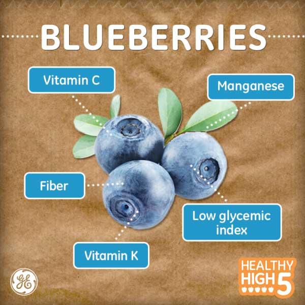 Blueberry – dưỡng chất vàng của bộ não