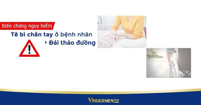 Tê bì chân tay ở bệnh nhân đái tháo đường