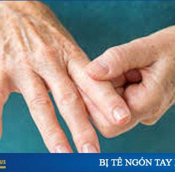 tê ngón tay là bệnh gì